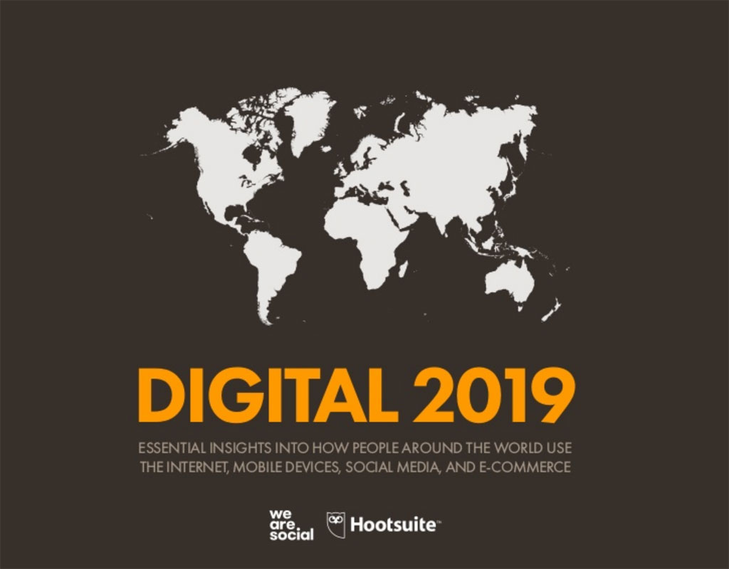 Digital 2019, report sullo stato globale del digitale