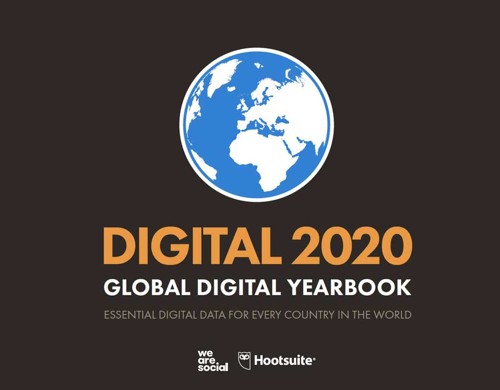 Digital Report 2020, lo stato globale del digitale