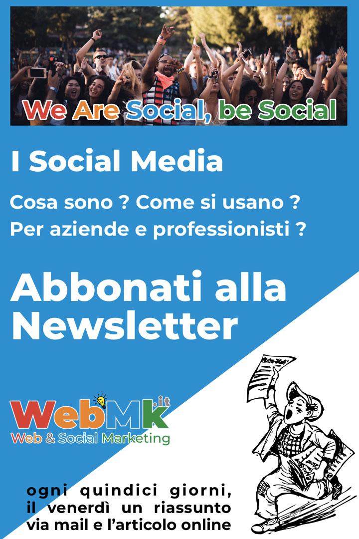 Newsletter by WebMk Italia