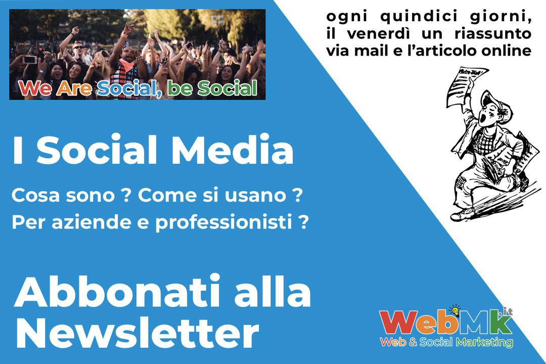 Newsletter by WebmK Italia