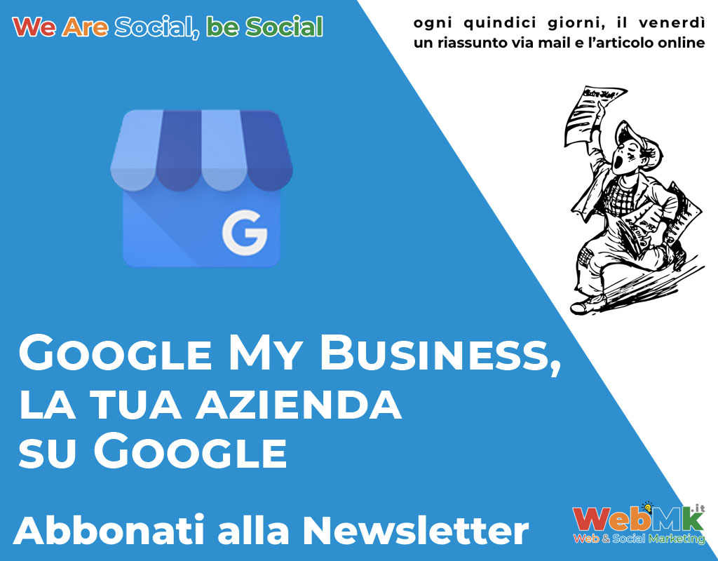 Cosa è Google My Business❓