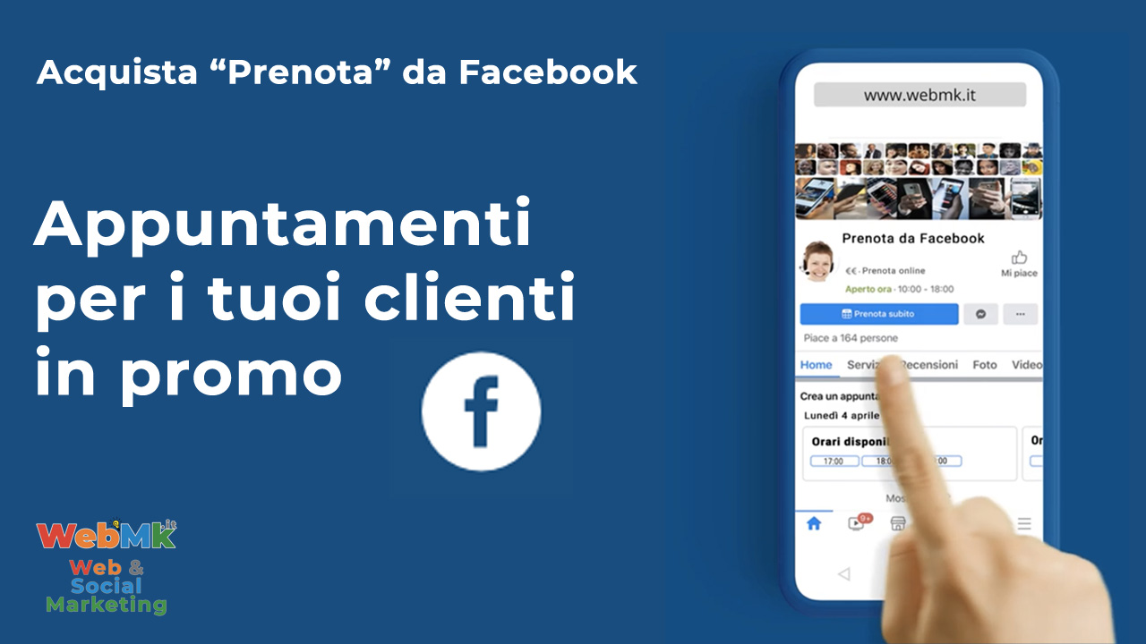 Acquista Appuntamenti da Facebook