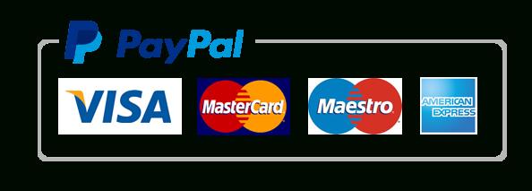 Paga con PayPal o con Carta di Credito