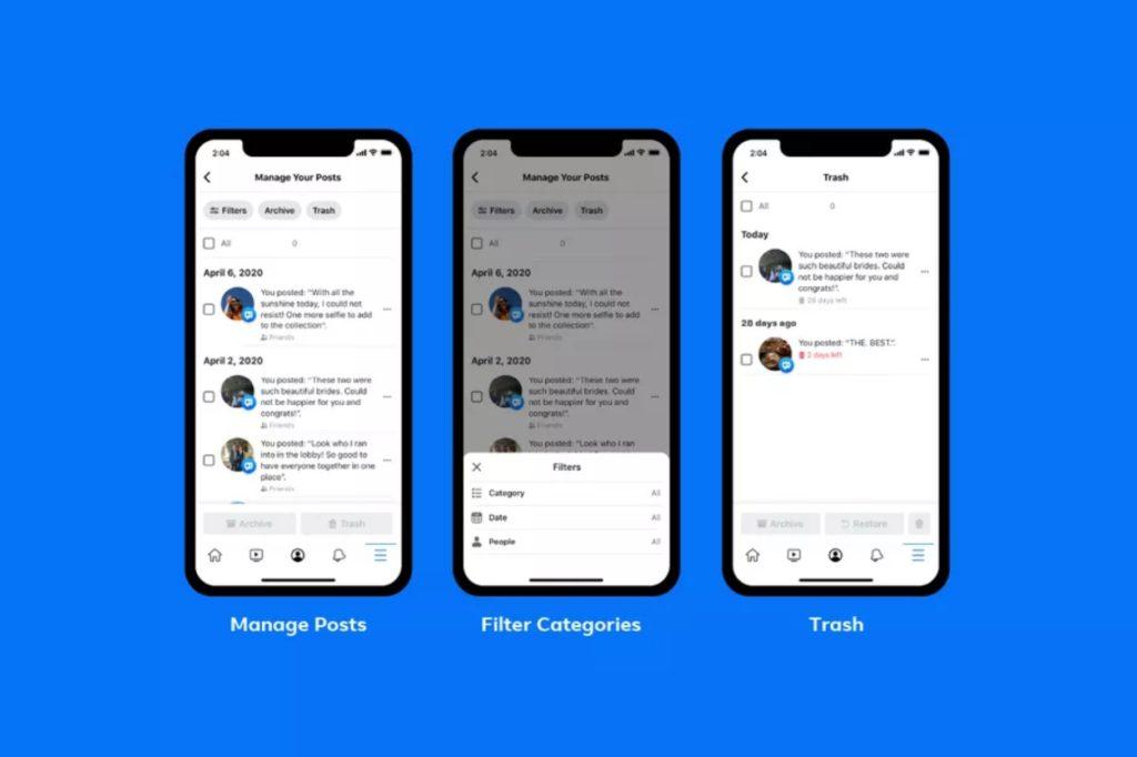 Facebook lancia lo strumento per fare pulizia