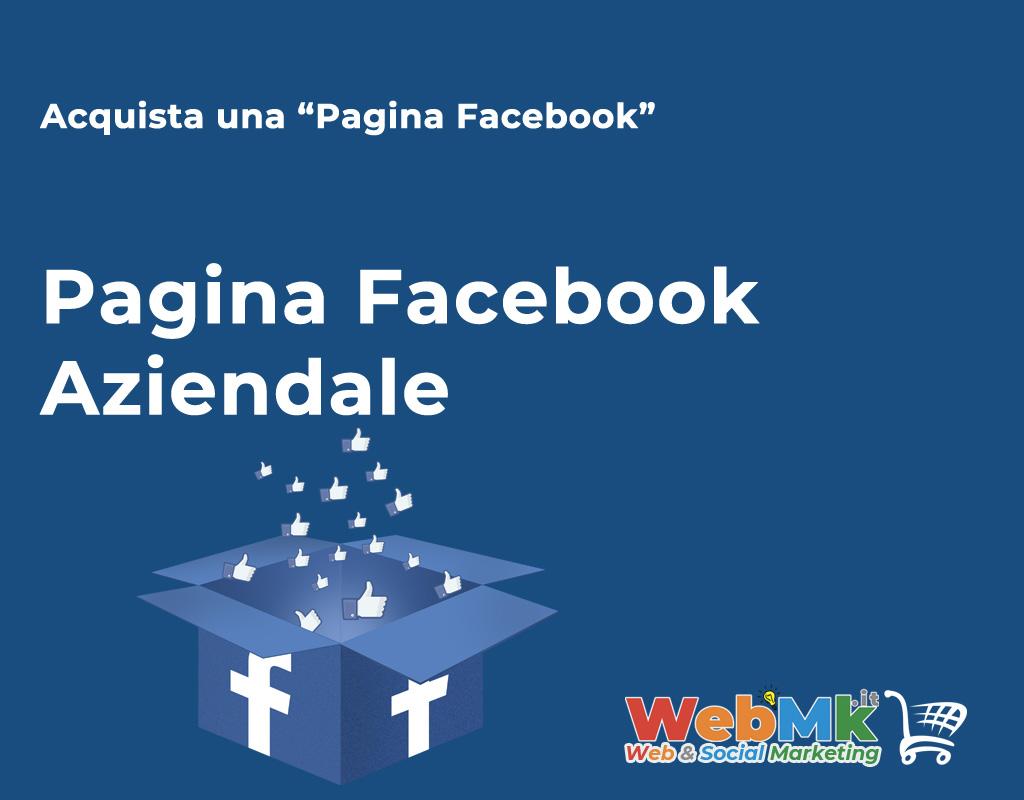 Acquista Pagina Facebook Aziendale