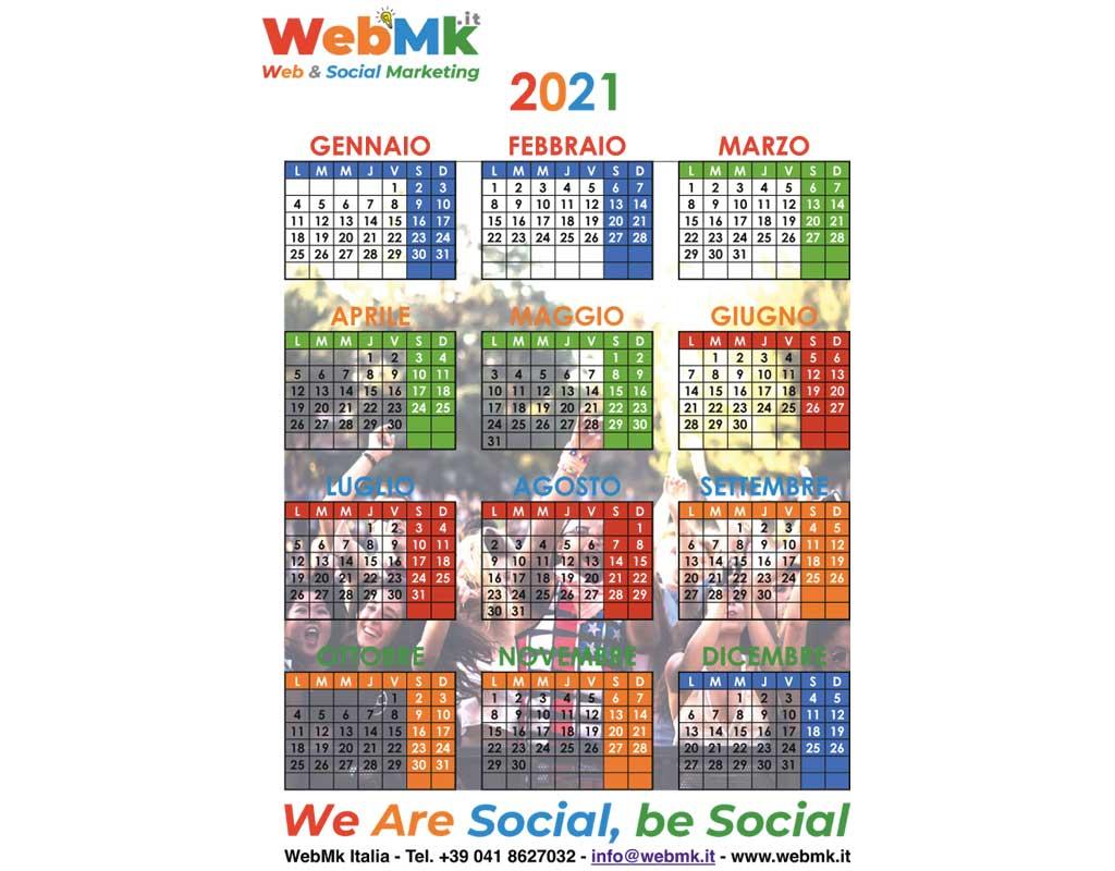 WebMk Italia Calendario 2021