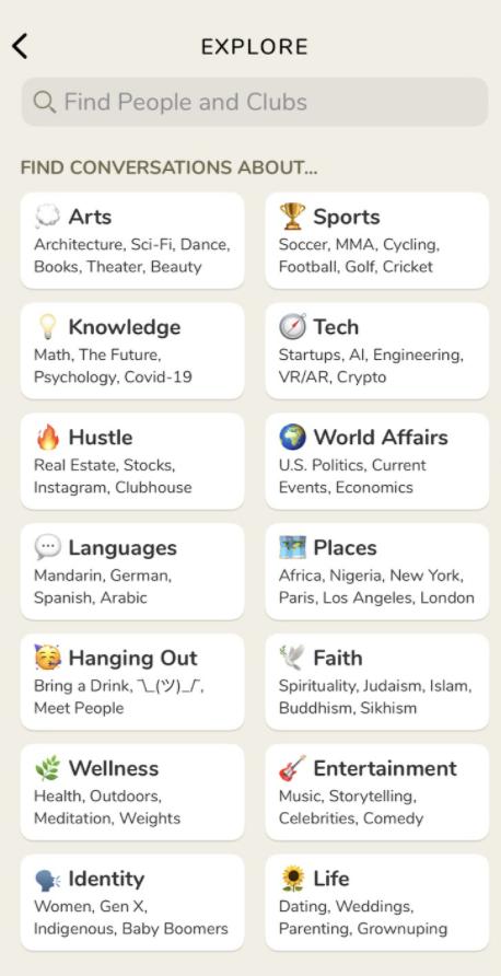 Clubhouse, un nuovo tipo di social network
