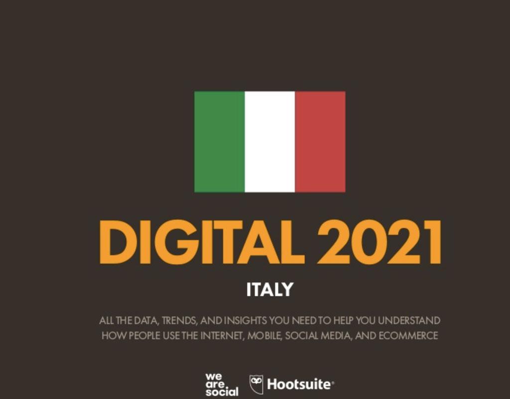 Digital Report Italia 2021, un anno complesso