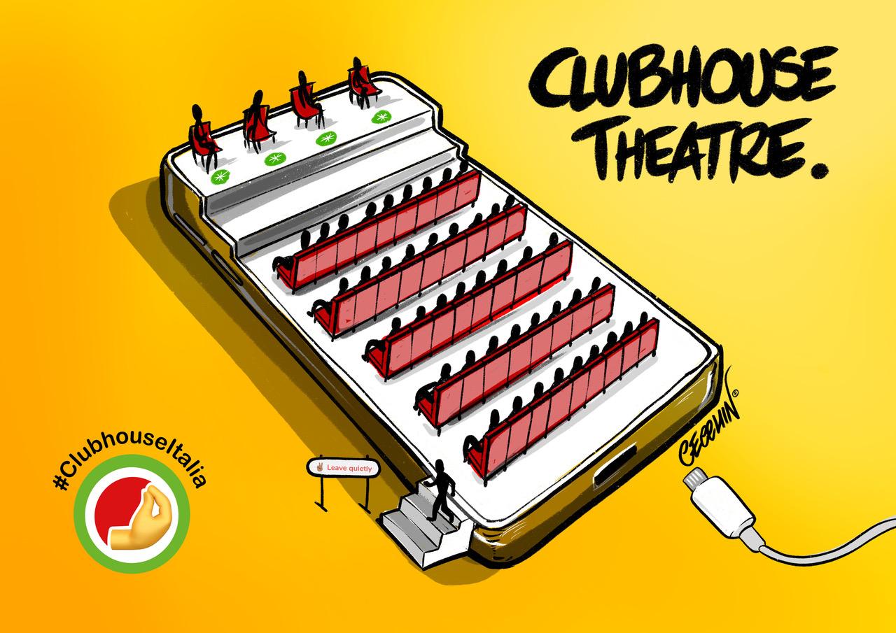 Tutti parlano di: Clubhouse